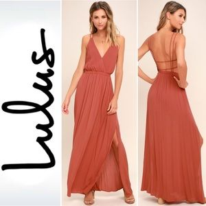 """Lulus """"Lost in Paradise"""" maxi dress"""